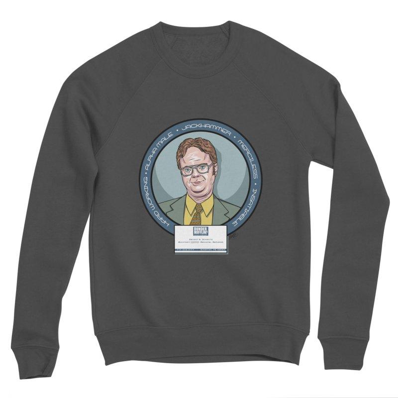 Dwight Men's Sponge Fleece Sweatshirt by bennygraphix's Artist Shop