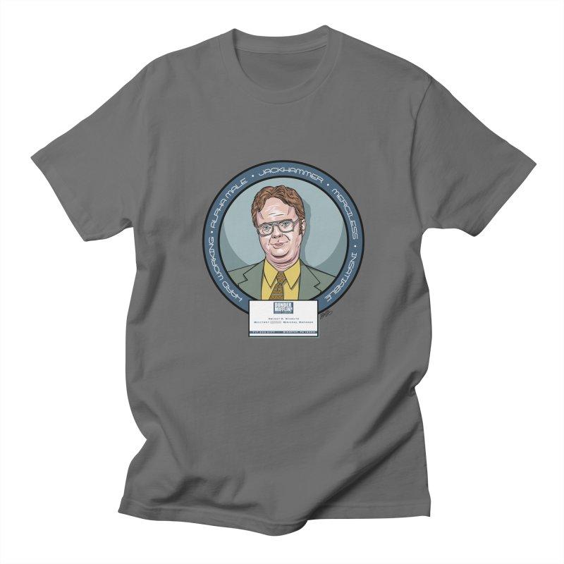 Dwight Men's T-Shirt by bennygraphix's Artist Shop