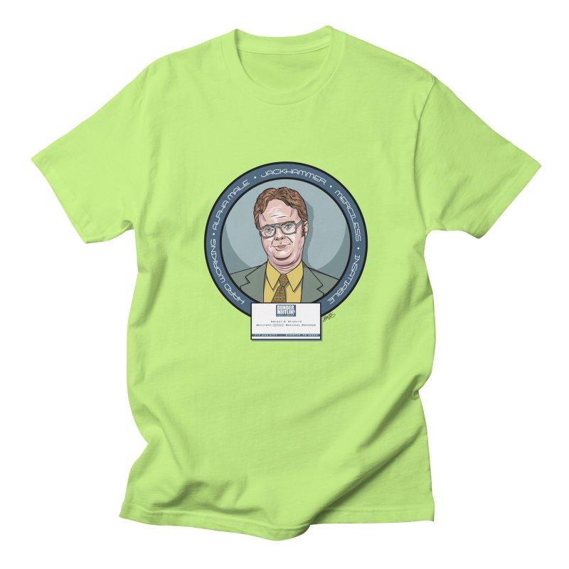 Dwight Men's Regular T-Shirt by bennygraphix's Artist Shop