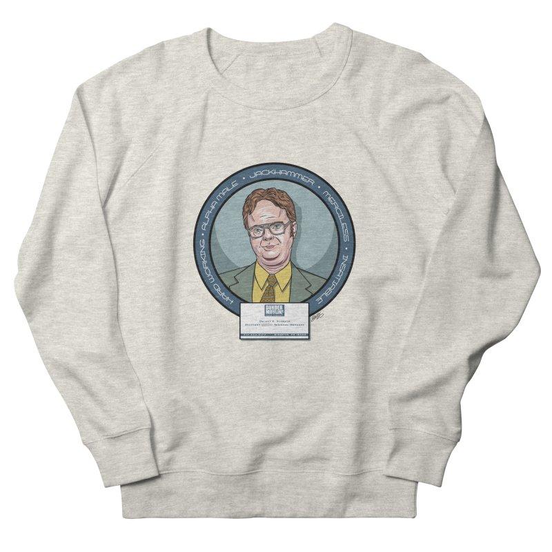 Dwight Women's French Terry Sweatshirt by bennygraphix's Artist Shop