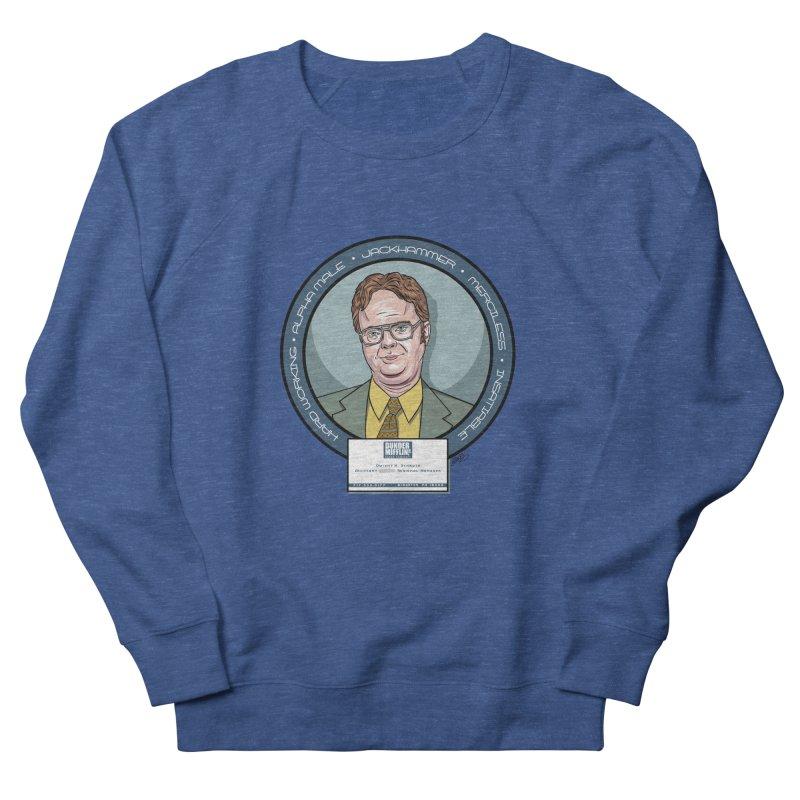 Dwight Men's French Terry Sweatshirt by bennygraphix's Artist Shop