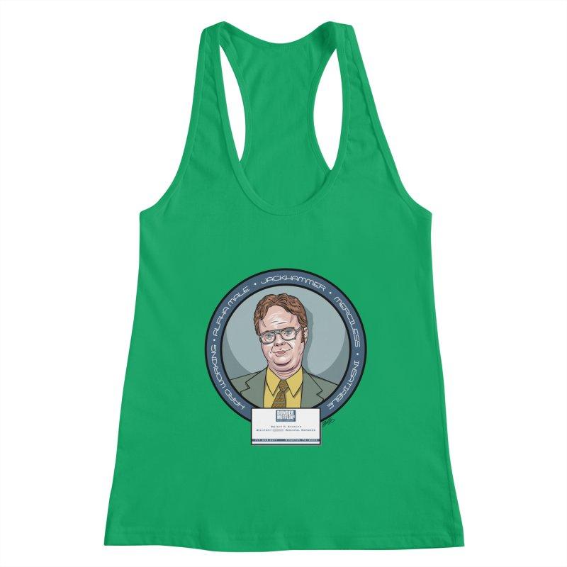 Dwight Women's Tank by bennygraphix's Artist Shop