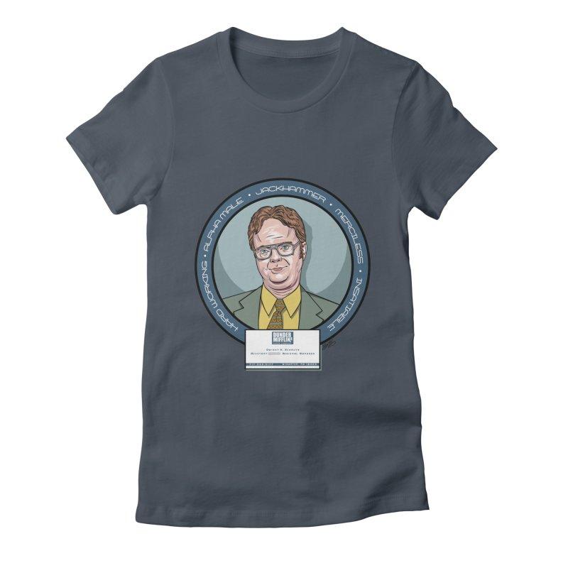 Dwight Women's T-Shirt by bennygraphix's Artist Shop