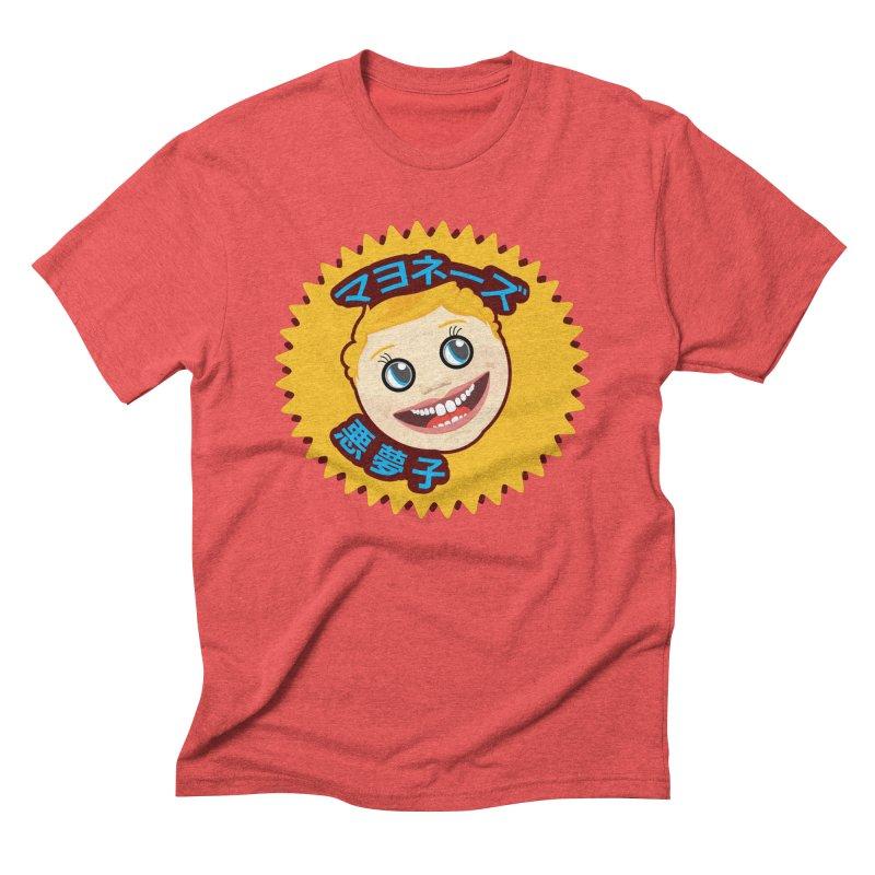 Mayonnaise Nightmare Child Men's Triblend T-Shirt by benposch's Artist Shop