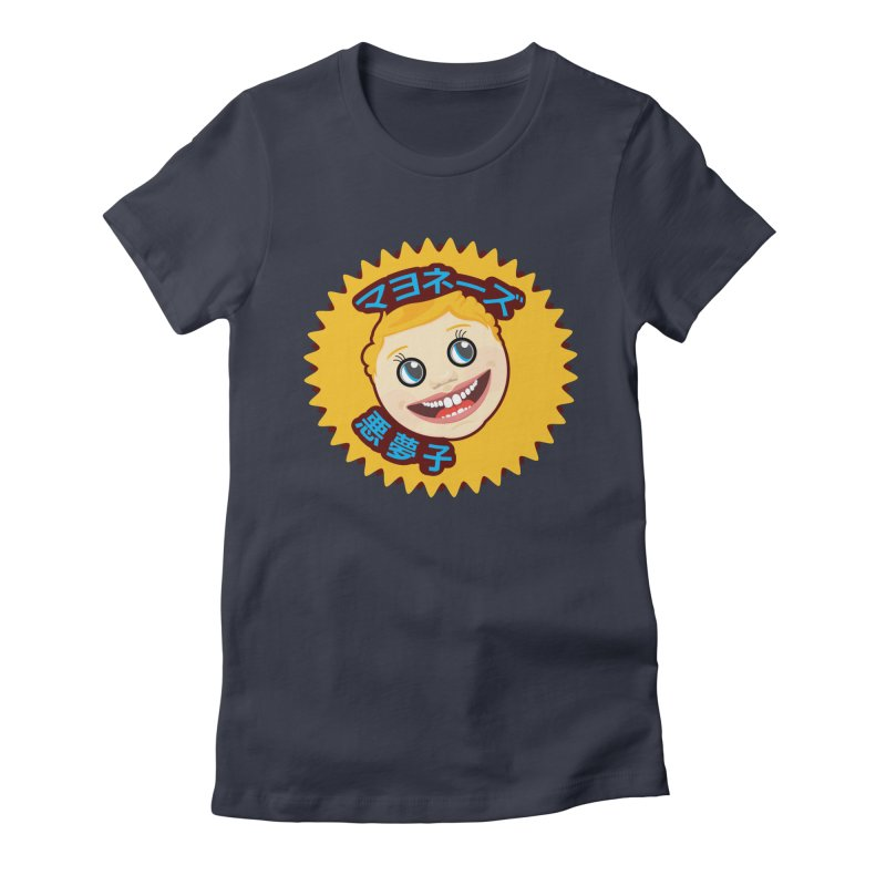 Mayonnaise Nightmare Child Women's Fitted T-Shirt by benposch's Artist Shop