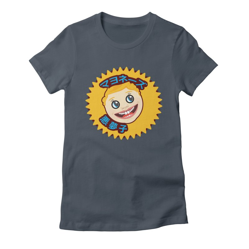 Mayonnaise Nightmare Child Women's Fitted T-Shirt by benposch's Artist Shop