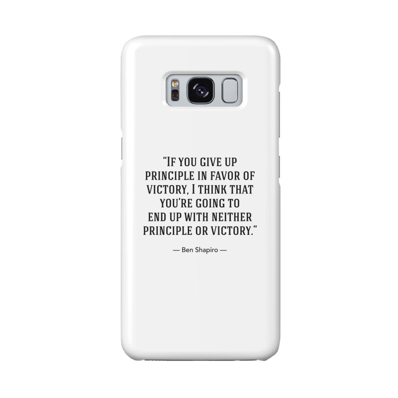 """""""Give up Principle"""" Accessories Phone Case by BenShapQuotes's Shop"""