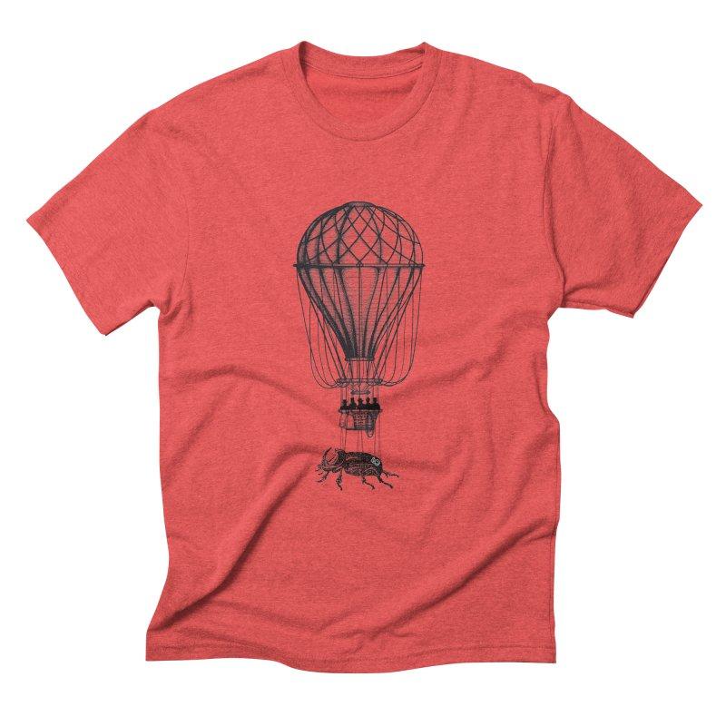 Discovery Men's Triblend T-shirt by The Artist Shop of Ben Stevens