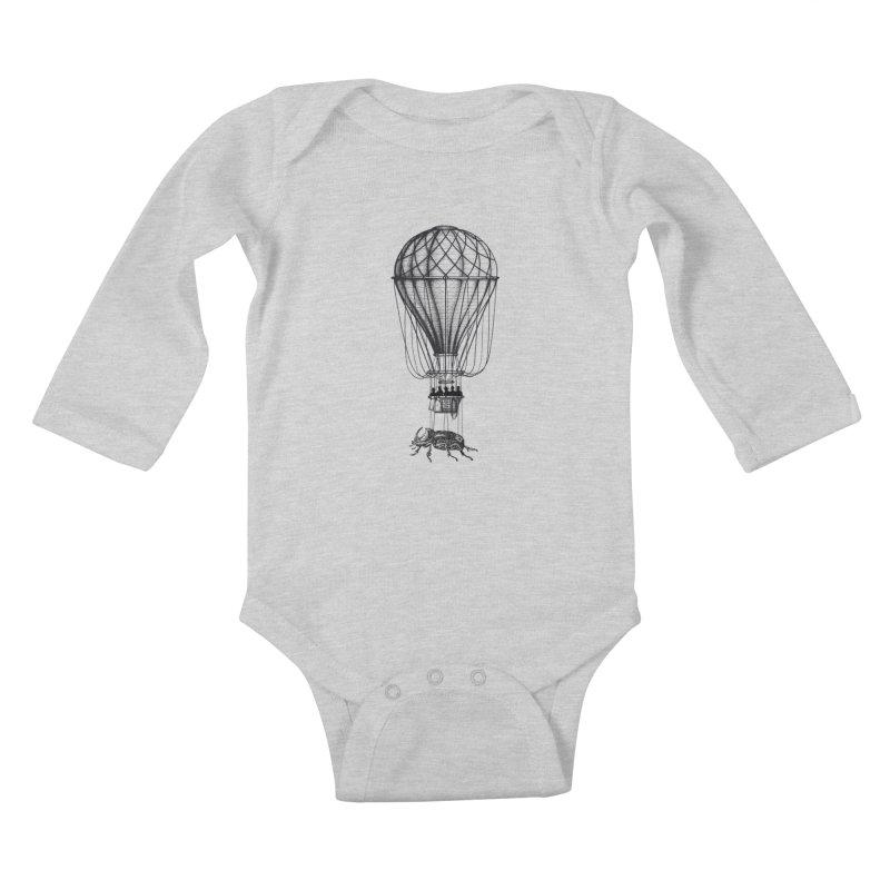 Discovery Kids Baby Longsleeve Bodysuit by The Artist Shop of Ben Stevens