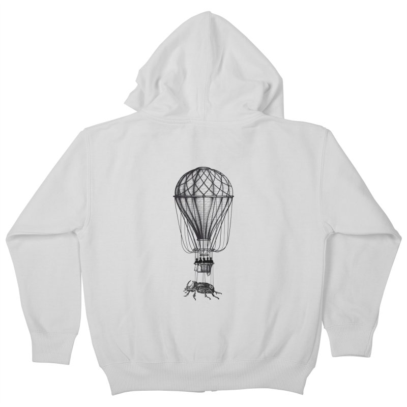 Discovery Kids Zip-Up Hoody by The Artist Shop of Ben Stevens