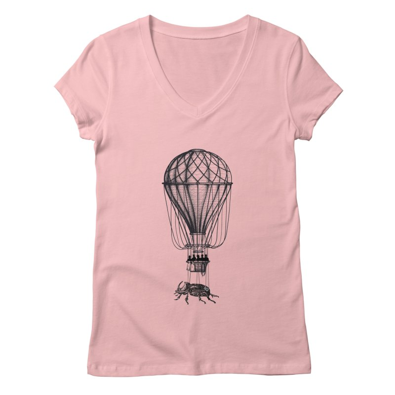 Discovery Women's V-Neck by The Artist Shop of Ben Stevens