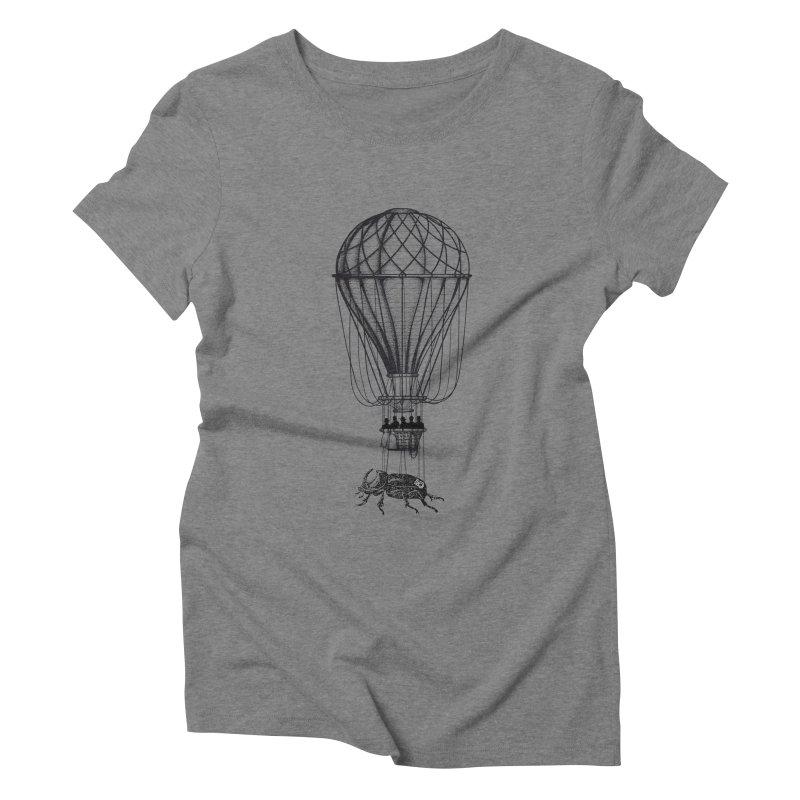 Discovery Women's Triblend T-shirt by The Artist Shop of Ben Stevens