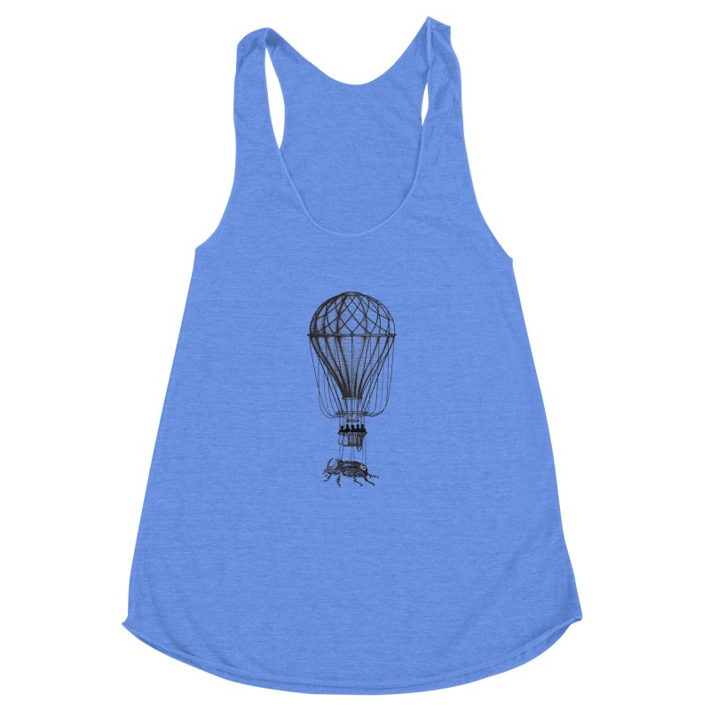 Discovery Women's Racerback Triblend Tank by The Artist Shop of Ben Stevens