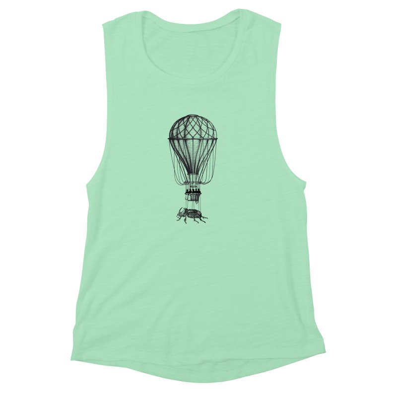 Discovery Women's Muscle Tank by The Artist Shop of Ben Stevens