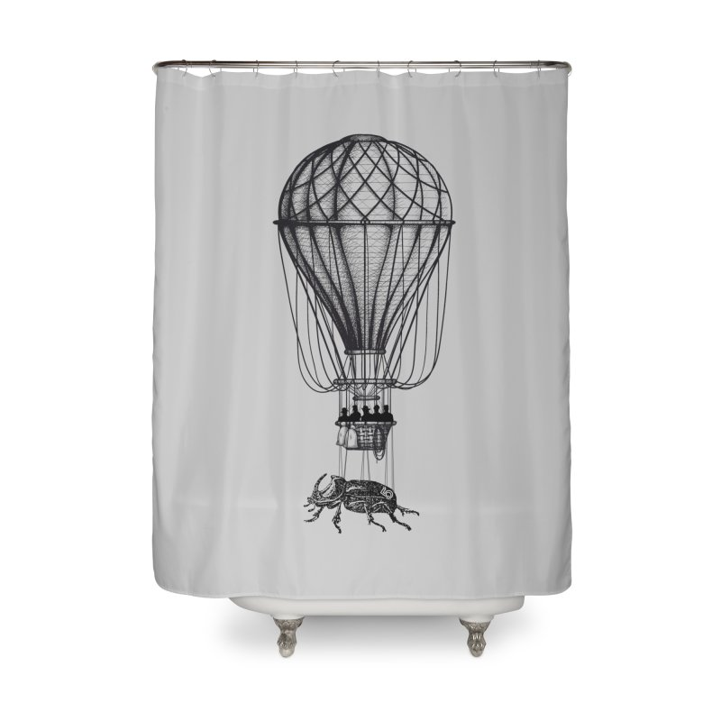 Discovery Home Shower Curtain by The Artist Shop of Ben Stevens