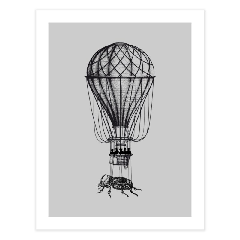 Discovery Home Fine Art Print by The Artist Shop of Ben Stevens