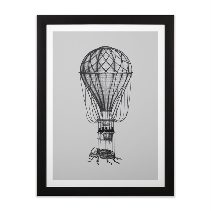 Discovery Home Framed Fine Art Print by The Artist Shop of Ben Stevens