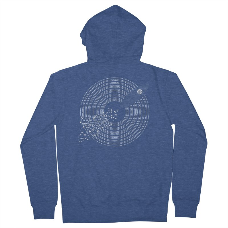 Boards n Beats Women's French Terry Zip-Up Hoody by The Artist Shop of Ben Stevens