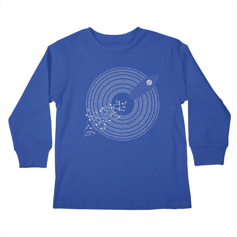 Boards n Beats Kids Longsleeve T-Shirt by The Artist Shop of Ben Stevens