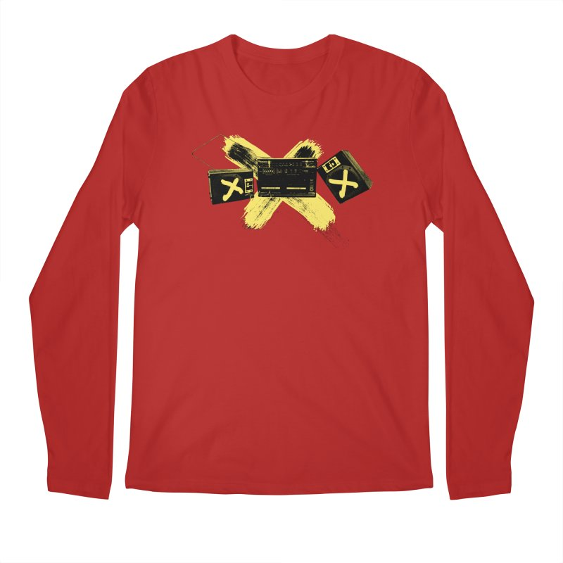 Flatline Men's Longsleeve T-Shirt by The Artist Shop of Ben Stevens