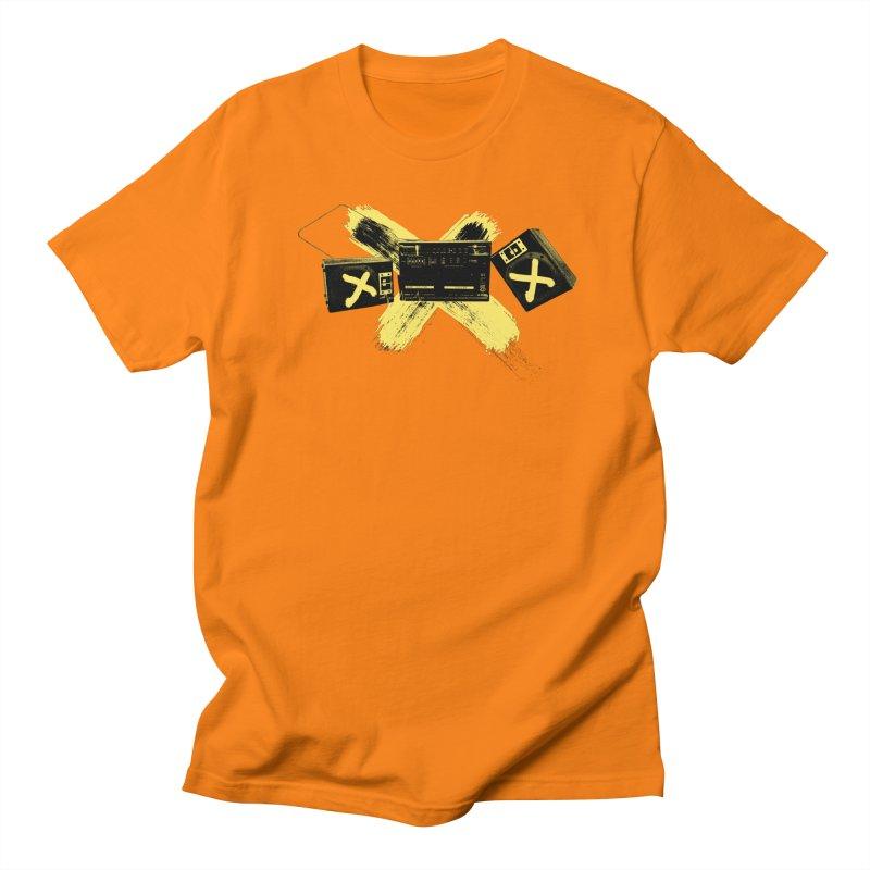 Flatline Men's T-Shirt by The Artist Shop of Ben Stevens