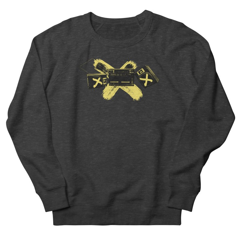 Flatline Men's Sweatshirt by The Artist Shop of Ben Stevens