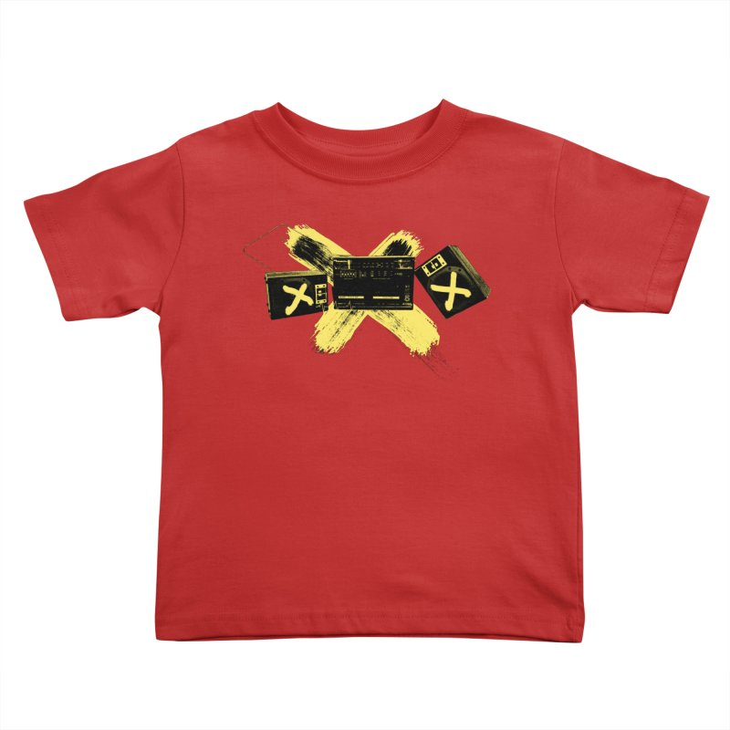 Flatline Kids Toddler T-Shirt by The Artist Shop of Ben Stevens