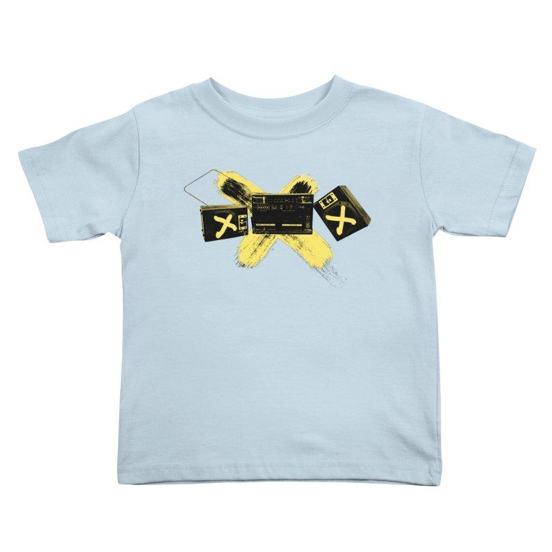 Flatline Kids Toddler T-Shirt by The Artist Shop of Ben Stevens