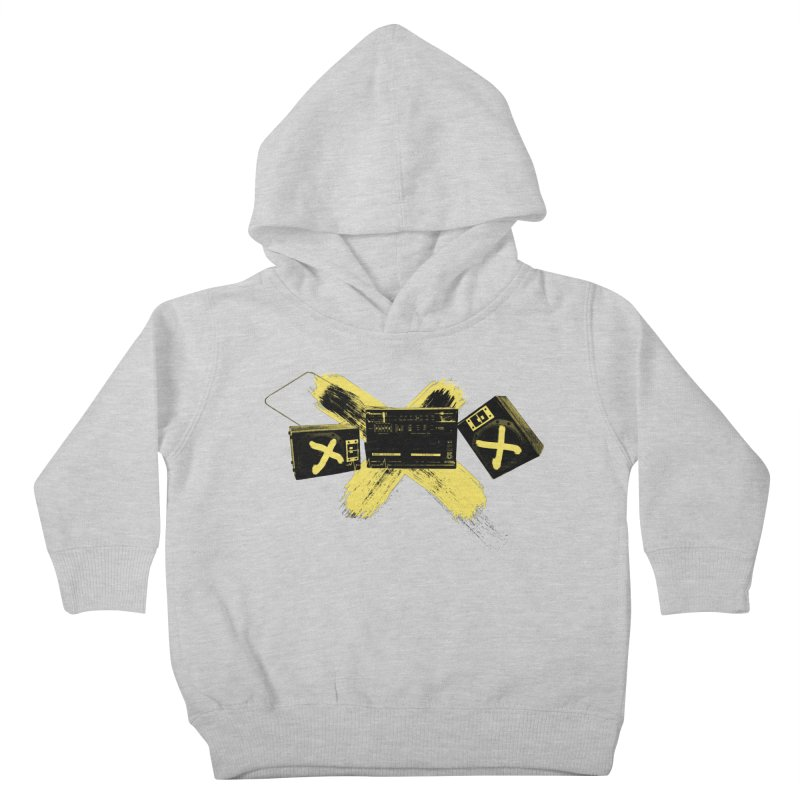 Flatline Kids Toddler Pullover Hoody by The Artist Shop of Ben Stevens
