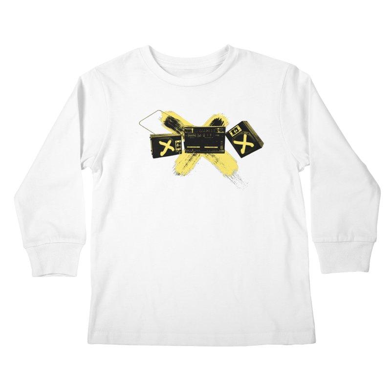 Flatline Kids Longsleeve T-Shirt by The Artist Shop of Ben Stevens