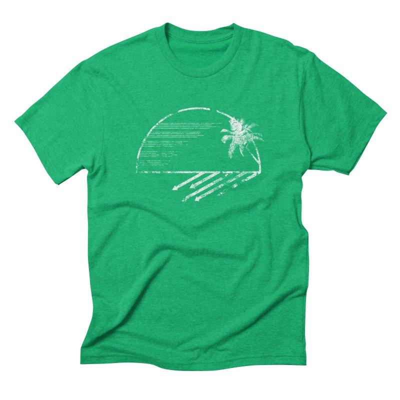 Good Morning Men's Triblend T-shirt by The Artist Shop of Ben Stevens
