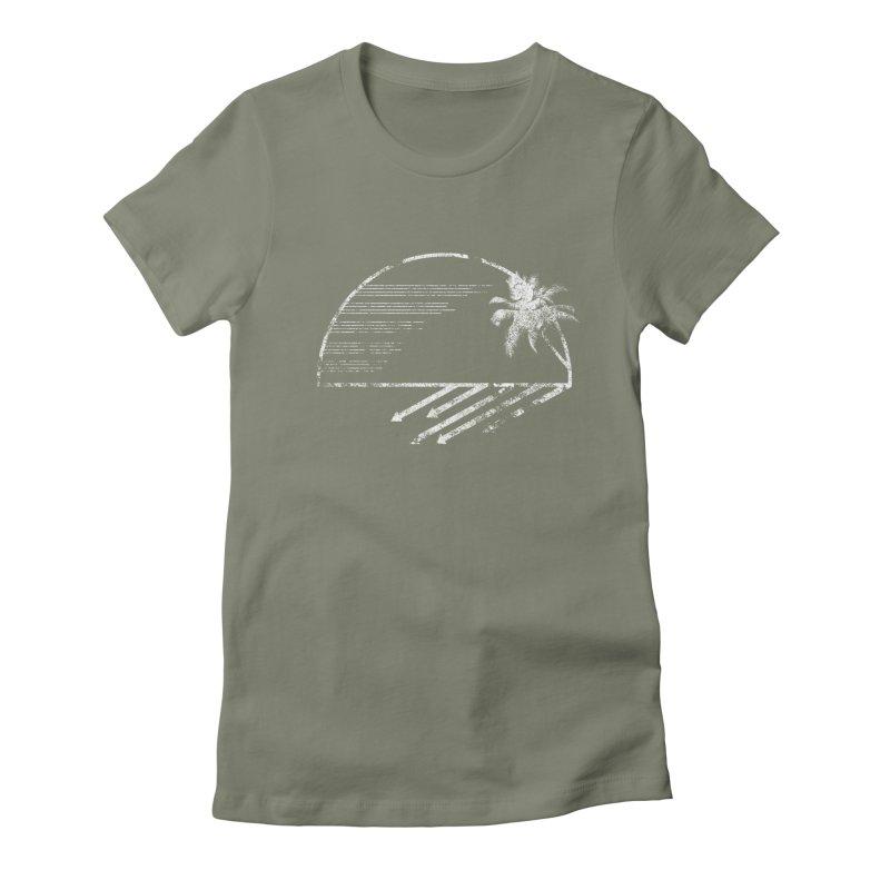 Good Morning Women's Fitted T-Shirt by The Artist Shop of Ben Stevens