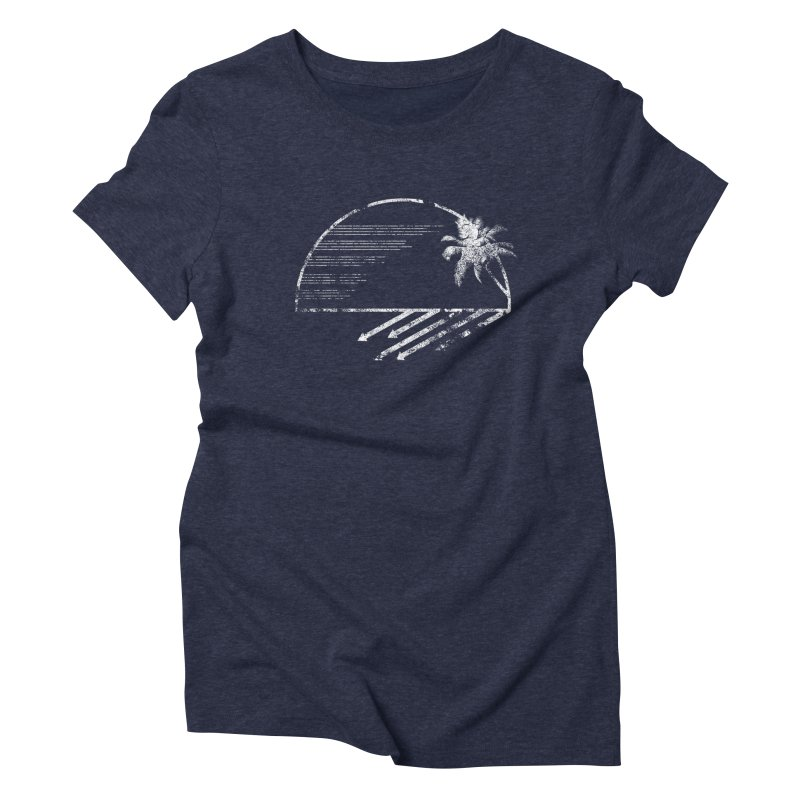 Good Morning Women's Triblend T-Shirt by The Artist Shop of Ben Stevens