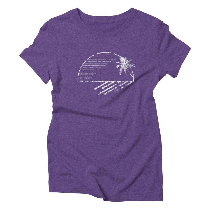 Good Morning Women's Triblend T-shirt by The Artist Shop of Ben Stevens