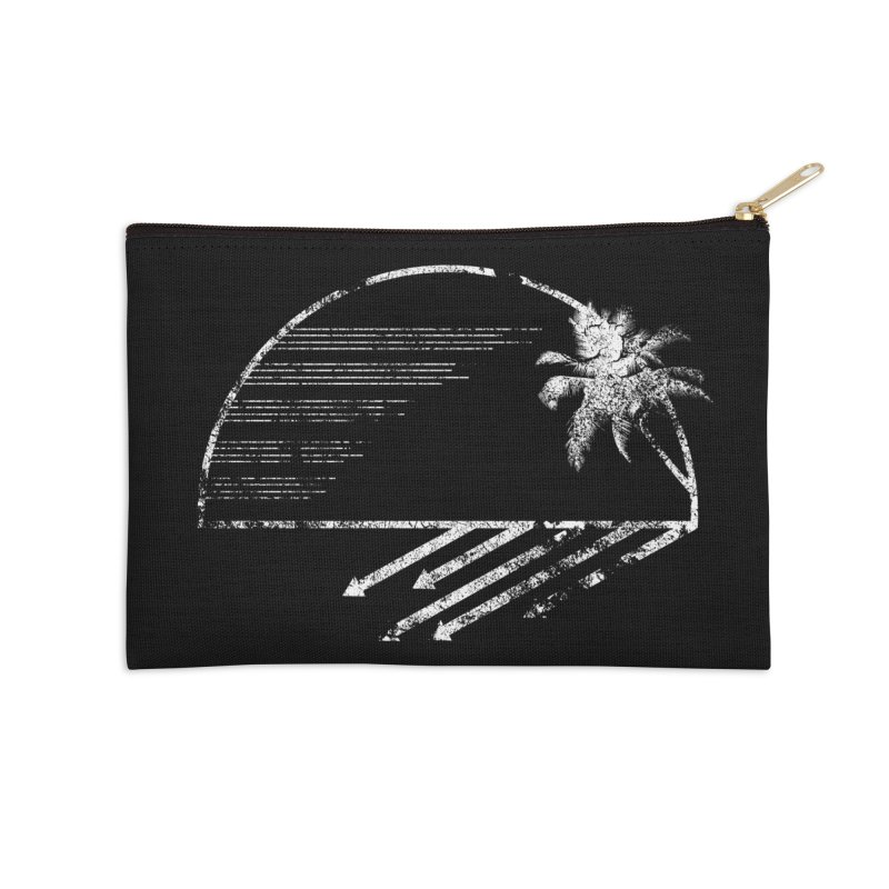 Good Morning Accessories Zip Pouch by The Artist Shop of Ben Stevens
