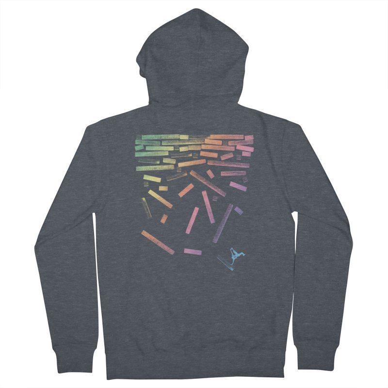'til the End Women's French Terry Zip-Up Hoody by The Artist Shop of Ben Stevens