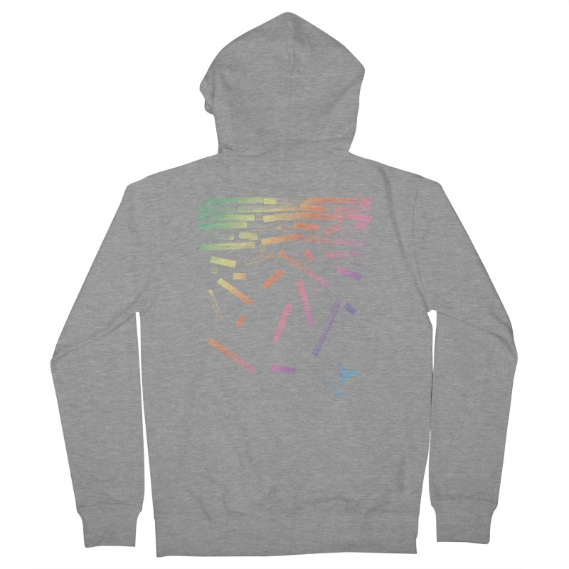 'til the End Women's Zip-Up Hoody by The Artist Shop of Ben Stevens