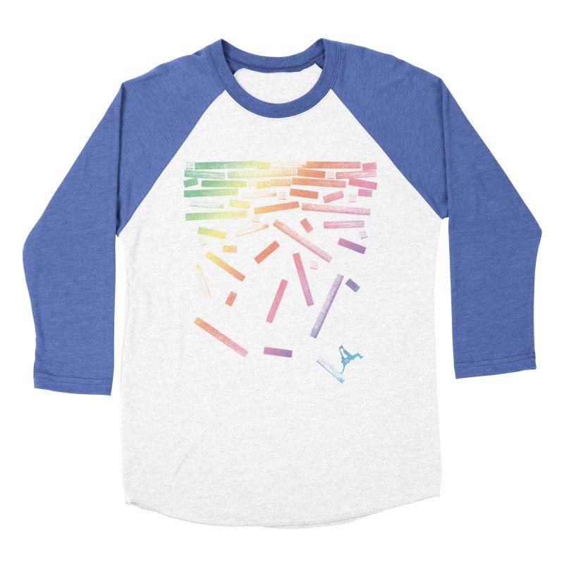 'til the End Women's Baseball Triblend Longsleeve T-Shirt by The Artist Shop of Ben Stevens