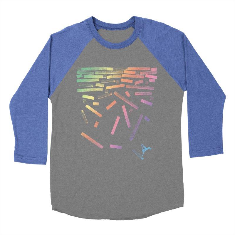 'til the End Men's Baseball Triblend T-Shirt by The Artist Shop of Ben Stevens