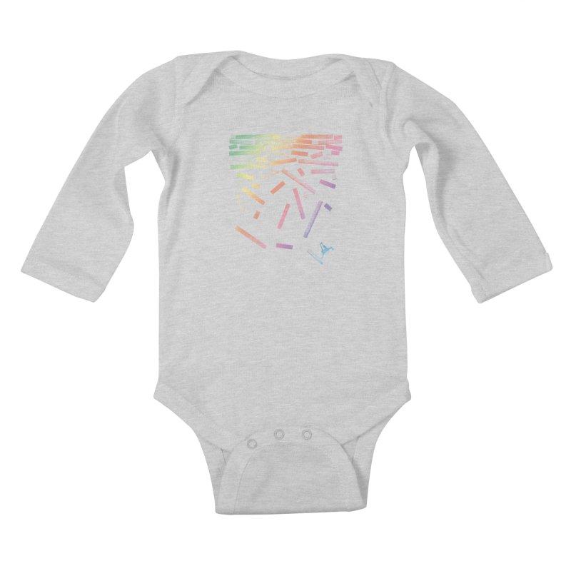 'til the End Kids Baby Longsleeve Bodysuit by The Artist Shop of Ben Stevens