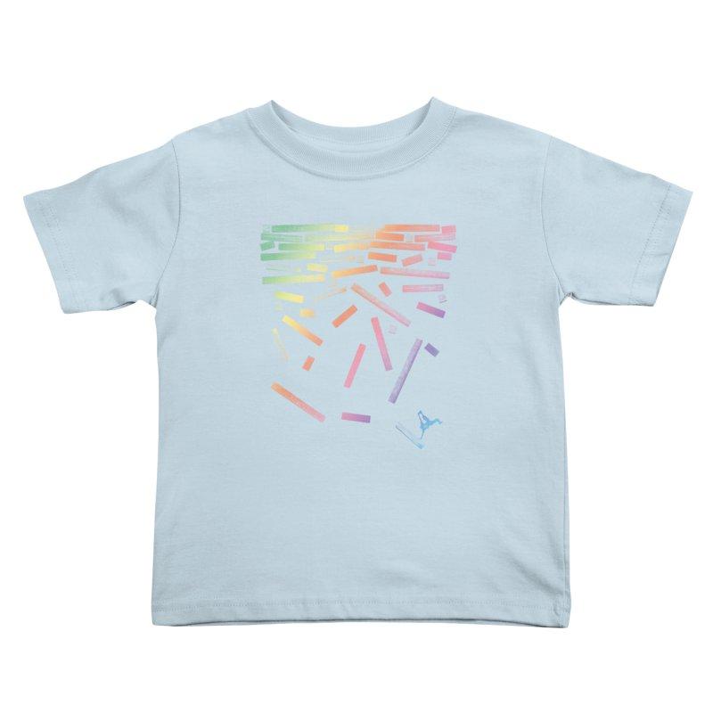 'til the End Kids Toddler T-Shirt by The Artist Shop of Ben Stevens