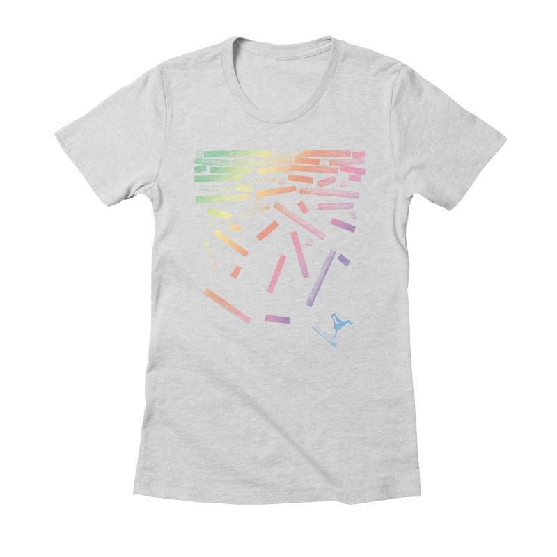 'til the End Women's Fitted T-Shirt by The Artist Shop of Ben Stevens