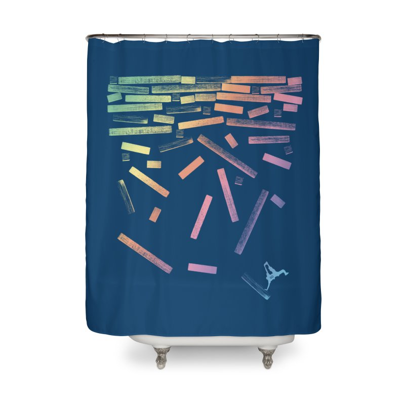 'til the End Home Shower Curtain by The Artist Shop of Ben Stevens