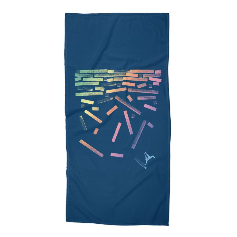'til the End Accessories Beach Towel by The Artist Shop of Ben Stevens