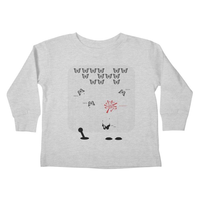 The Invasion has begun... Kids Toddler Longsleeve T-Shirt by The Artist Shop of Ben Stevens