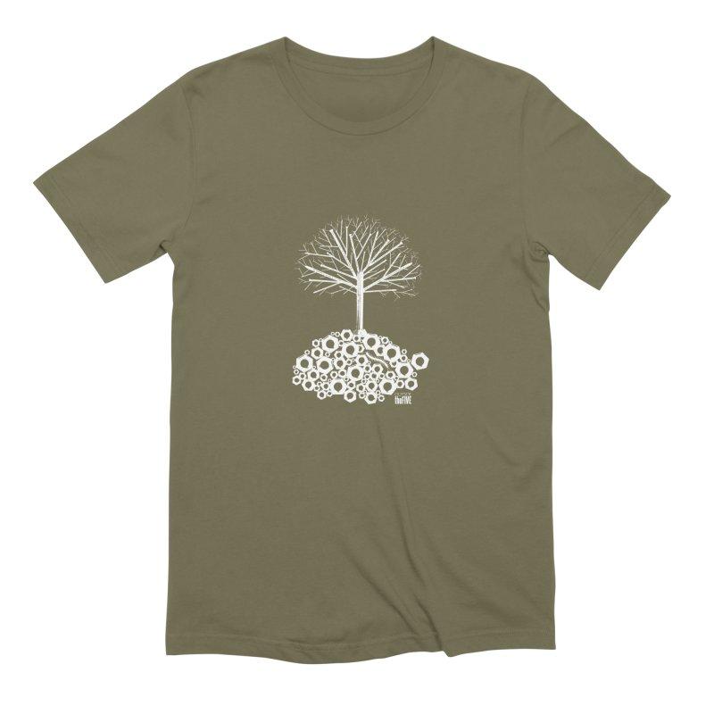 Industree Men's Extra Soft T-Shirt by The Artist Shop of Ben Stevens