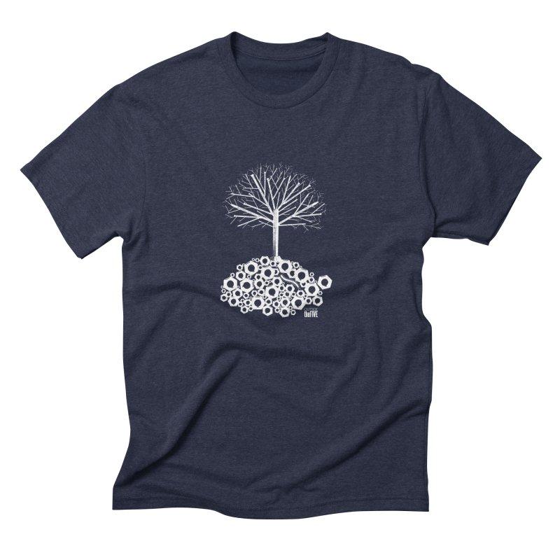 Industree Men's Triblend T-shirt by The Artist Shop of Ben Stevens