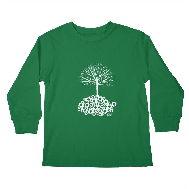 Industree Kids Longsleeve T-Shirt by The Artist Shop of Ben Stevens