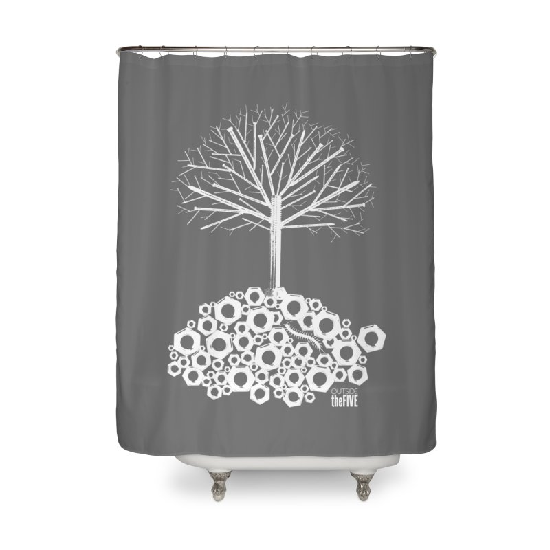 Industree Home Shower Curtain by The Artist Shop of Ben Stevens