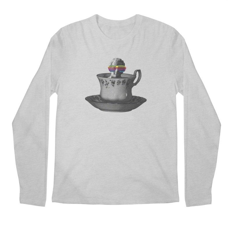 A Cup of Genius Men's Longsleeve T-Shirt by The Artist Shop of Ben Stevens